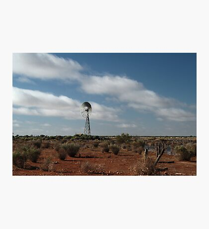 Outback waterhole Photographic Print
