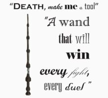 DH - The Elder Wand Kids Clothes