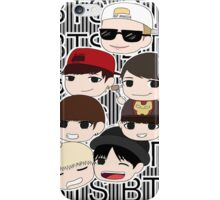 Bangtan Boys chibi iPhone Case/Skin