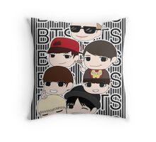 Bangtan Boys chibi Throw Pillow