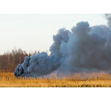 The explosion of car 2. Photographic Print