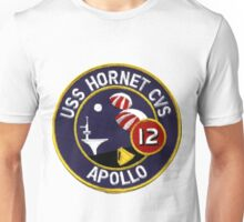 USS Hornet CVS-12, Recovery of Apollo 12 Unisex T-Shirt