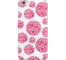 Flower balls. iPhone Case/Skin