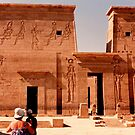 Philae temple complex by machka