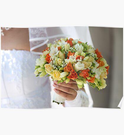 Multi-coloured bouquet 1. Poster