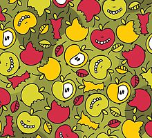 Crazy apples. by Ekaterina Panova