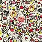 Mushrooms. by Ekaterina Panova