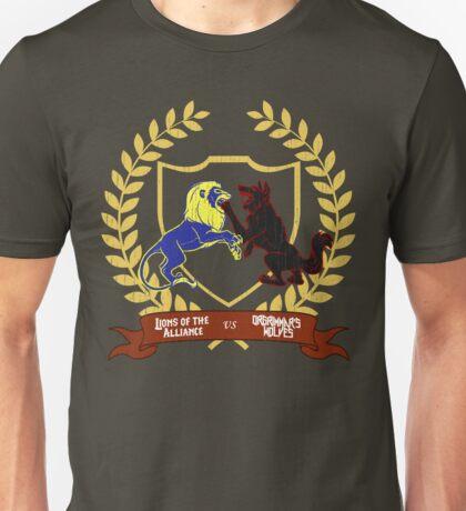 Lions vs Wolves Unisex T-Shirt
