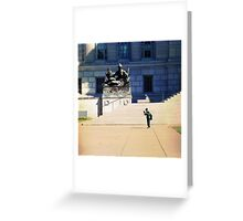 Capital Kid Greeting Card