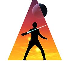 Star Wars - Luke Skywalker Large Triangle by gunslinger87