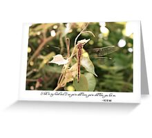 April 2012 - Lost For Words Greeting Card