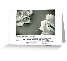 September 2012 - Lost For Words Greeting Card
