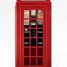 Red phonebox for iPhones by ©The Creative  Minds