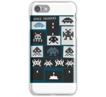 Space Invaders Saul Bass Style iPhone Case/Skin