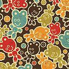 Teddy bears. by Ekaterina Panova
