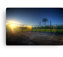 Hoops Heaven 2.0 Canvas Print