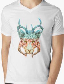 Cheedeera Mens V-Neck T-Shirt