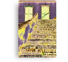 Psychedelic Stairway Canvas Print