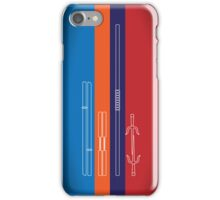 Leonardo, Michelangelo, Donatello, Raphael - Stripes iPhone Case/Skin