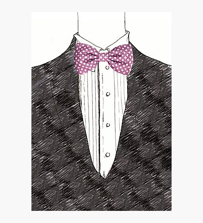 Mister Bow tie Photographic Print