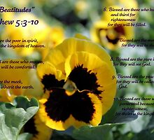 Beatitudes by WeeZie