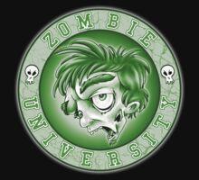 Zombie U Alumni Toxic Green Shirt  by Kyle Gentry