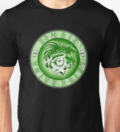 Zombie U Alumni Toxic Green Shirt  Unisex T-Shirt