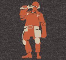 Engineer - Minimalistic TF2 Classes by oddworldcrash