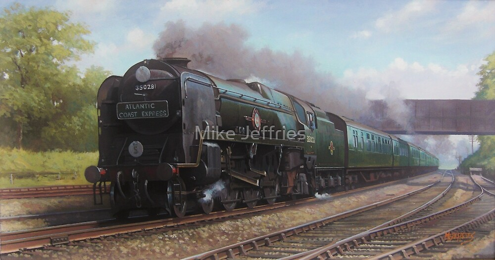 Atlantic Coast Express by Mike Jeffries