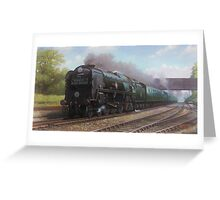Atlantic Coast Express Greeting Card