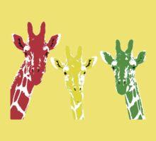 Rasta Giraffe Kids Tee