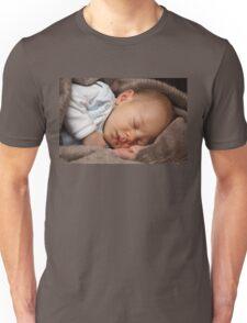 Sleeping baby girl Unisex T-Shirt