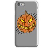 Jack-O-Lantern Stitch Mouth iPhone Case/Skin