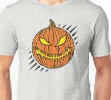 Jack-O-Lantern Stitch Mouth Unisex T-Shirt