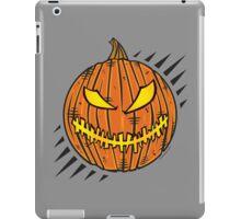Jack-O-Lantern Stitch Mouth iPad Case/Skin