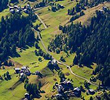 View from Col di Lana, Dolomiti, Italy by Andrew Jones