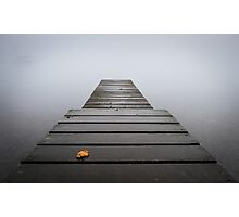 Autumn Mist on Coniston Photographic Print