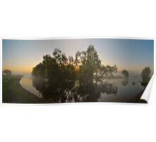 Misty Dawn 2.1 - Panoramic Poster