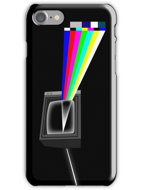 Dark side of the Signal - iPhone case by D4N13L