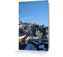 Morpeth Winter 2011 - Winter Tsunami II Greeting Card