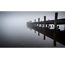 Jetty in Mist Photographic Print