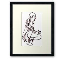 Chloe Price Framed Print
