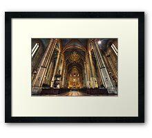 Zagreb Cathedral Framed Print