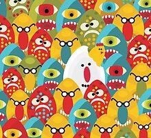 Chicken monster. by Ekaterina Panova