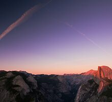 Half Dome Sunset - Yosemite National Park, CA by Matthew Kocin