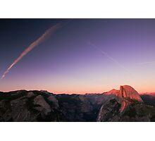 Half Dome Sunset - Yosemite National Park, CA Photographic Print