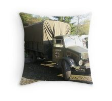 Captured Bedford OY Model. Throw Pillow