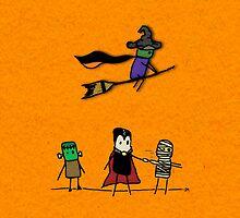 Shiny Metal Thing - Halloween Guys - Orange by ShinyMetalThing