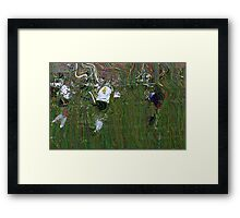 091611 085 0  pointillist Framed Print