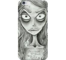 'Bride' art by Sheik iPhone Case/Skin